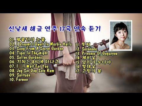 신날새(Shin Nal Sae) 해금 연주 17곡 연속 듣기