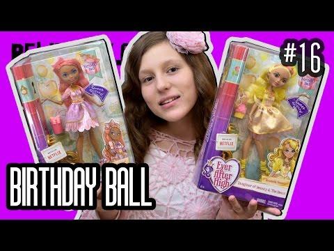 куклы Эвер Афтер Хай ВОНЮЧКИ С ЗАПАХОМ ! Rosabella Cedar BIRTHDAY BALL обзор на кукол 2016