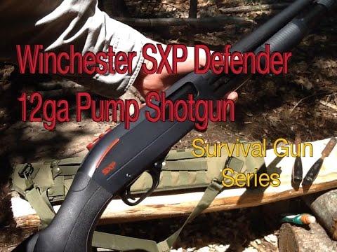 Winchester SXP Defender 12ga Pump - Survival Gun Series