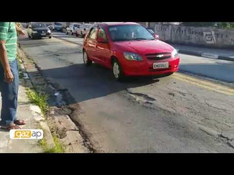 Morador de Pirituba reclama de rachaduras em rua