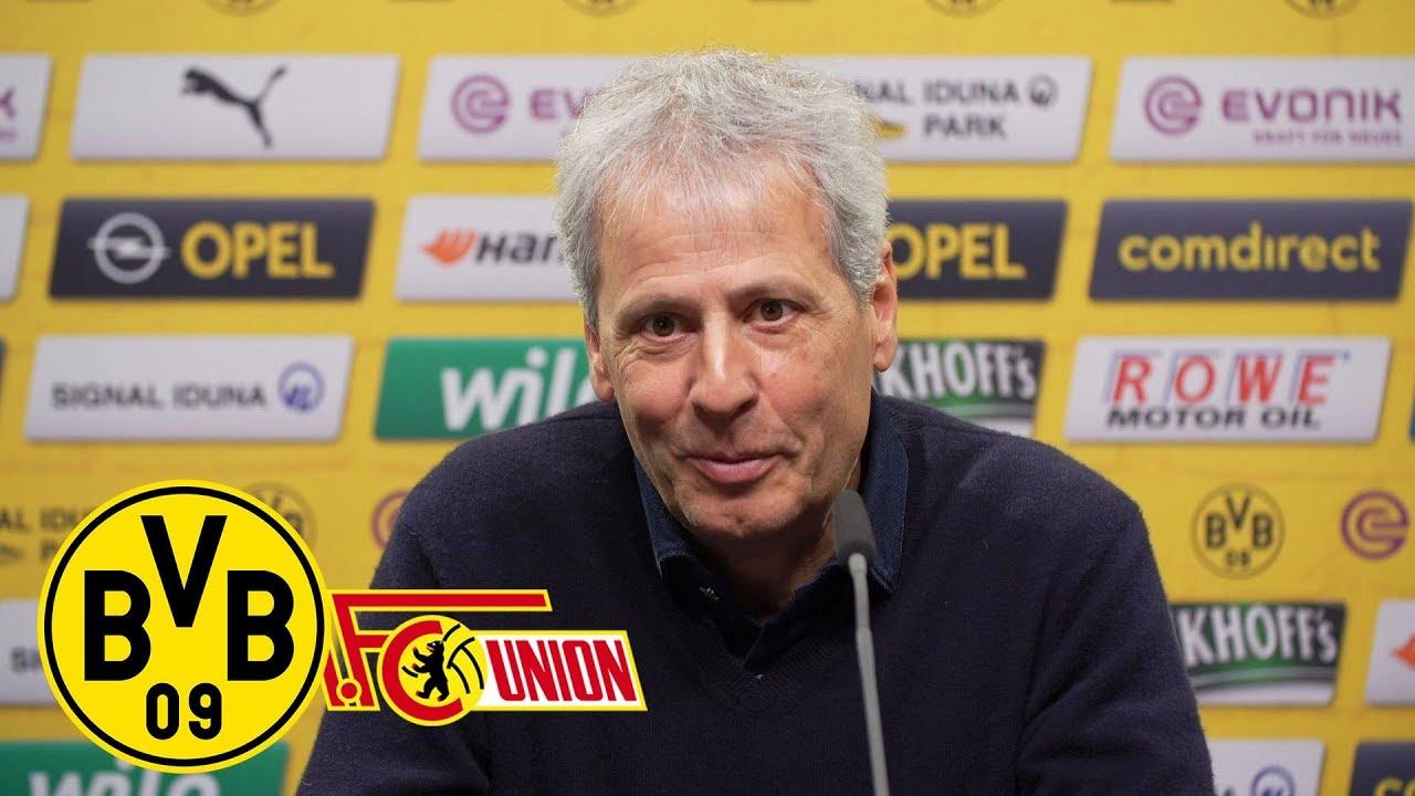 LIVE: Pressekonferenz mit Lucien Favre & Michael Zorc  | BVB - 1. FC Union