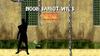 Mortal Kombat II Noob Saibot Playthrough 1/2