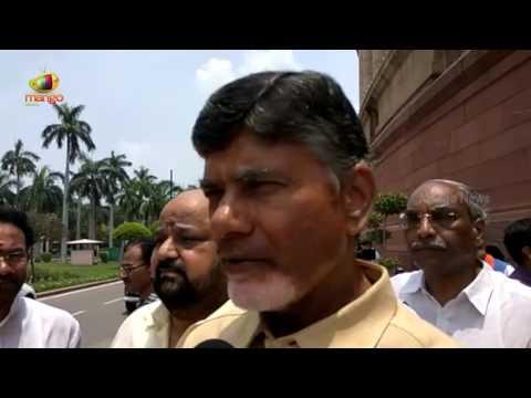 AP CM Chandrababu Naidu Supports NDA President Candidate Ram Nath Kovind | Delhi | Mango News