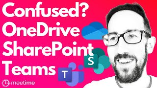 Microsoft Teams OneDrive Integration Tutorial 2021 [END THE CONFUSION]