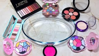 Mixing Makeup Into Slime ! Recycling My Makeup In Slime ! Must Watch