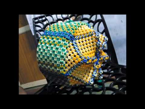Big Size pooja basket With Sivankan Knot in wire - Photos
