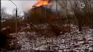 Крупный пожар в Хвалынске унес жизнь маленького ребенка