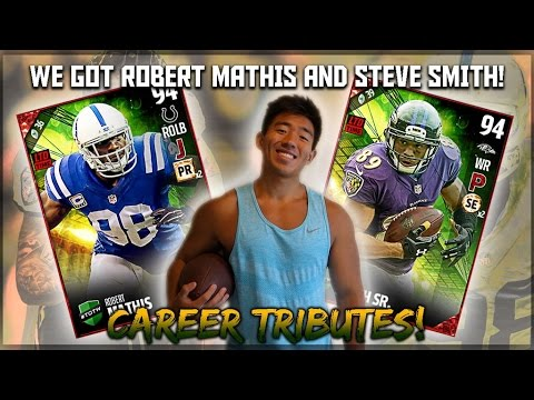 RUINING SOMEONES SUPER BOWL! WE GET TRIBUTE STEVE SMITH SR & R. MATHIS! MADDEN 17 ULTIMATE TEAM