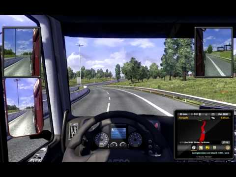 Euro Truck Simulator 2 Luxembourg to Calais