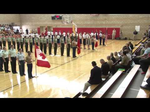 CISM World Women's Military Basketball Championship Opening Ceremony - July 25 2016