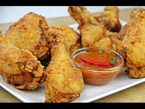 Ultimate Spicy Fried Chicken #TastyTuesdays | CaribbeanPot.com