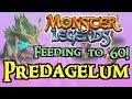Monster Legends - Feeding to 60! : Predagelum