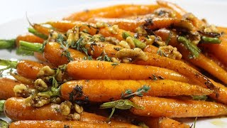 Maple Glazed Carrots With Walnuts Recipes - Woolworths