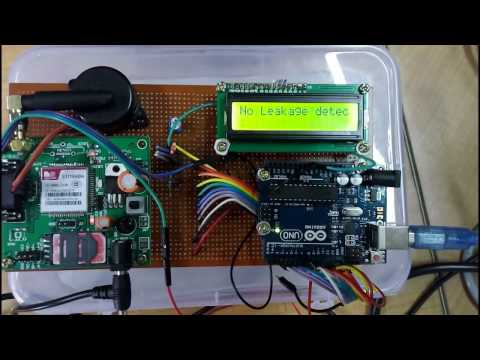 Gas Leakage Detector using Arduino UNO and GSM Module with SMS Alert || Ltit Collage