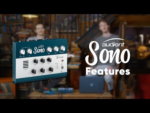 Audient Sono Features - Guitar Recording Interface