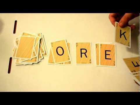 Scrabble Slam: Card Game Gameplay Demo