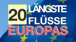 Längste Flüsse Europas