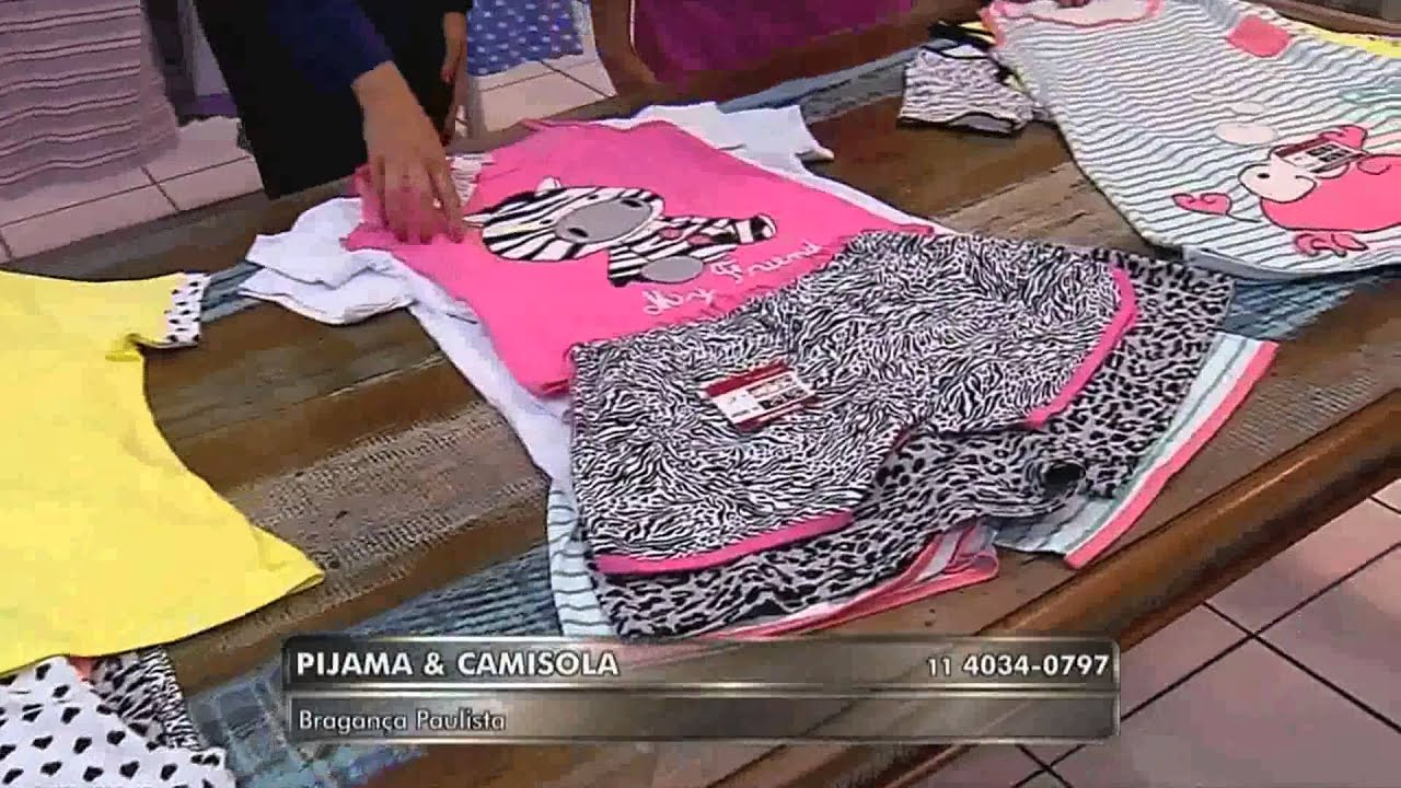c5c7ae244 Pijama e Camisola Mooca Pijamas - YouTube