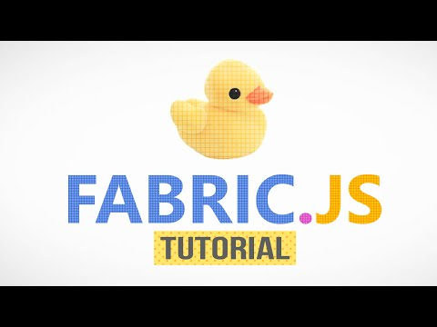 Fabric js Tutorial - Part 1: Introduction - YouTube