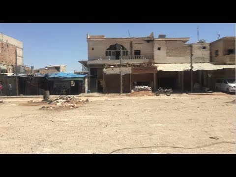 Rebuilding lives in former Islamic State-controlled town in Syria
