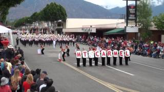 Mt. Carmel HS - Voice of the Guns - 2012 Arcadia Band Review