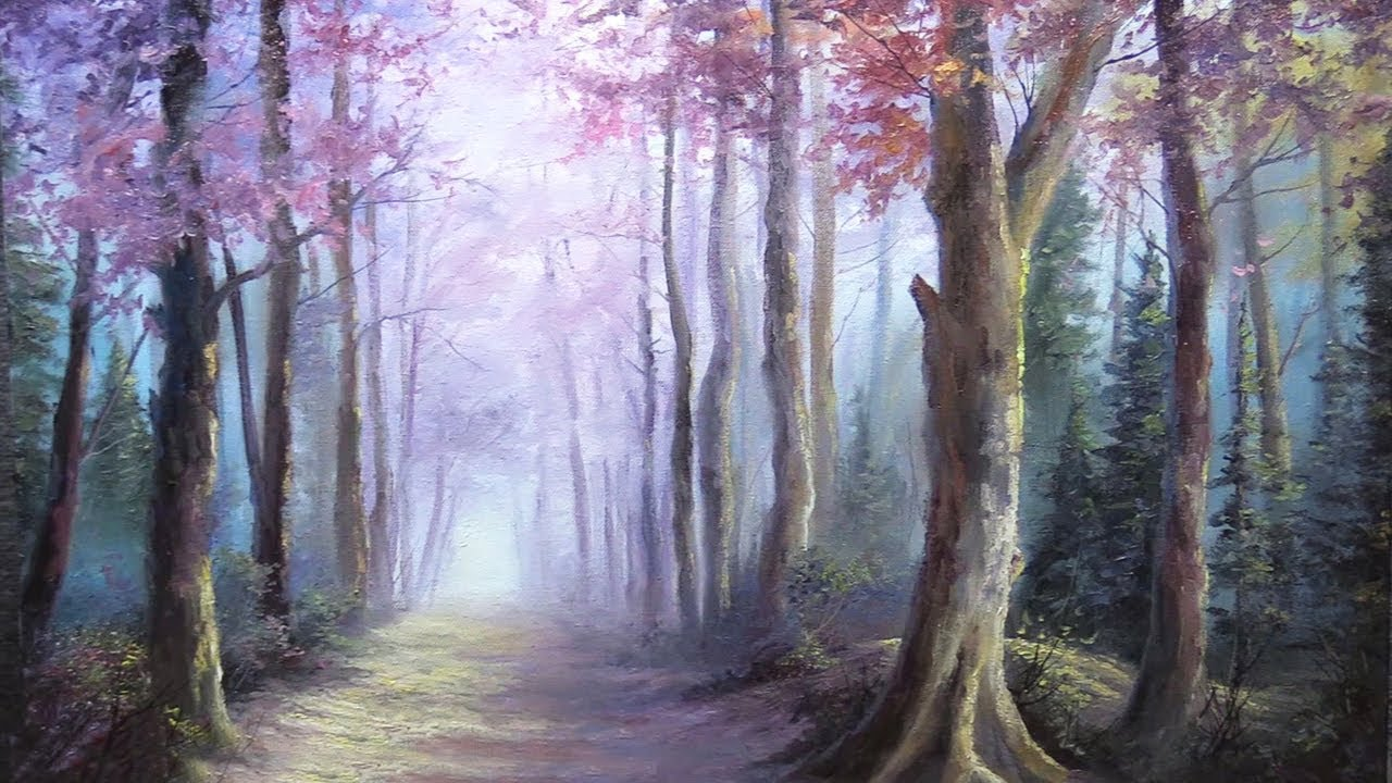 Misty Trail Paint With Kevin 174 Youtube