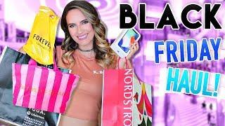 BLACK FRIDAY HAUL 2017!! Forever 21, Nordstrom & More!