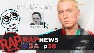 Eminem приготовил новый альбом?; суд Rick Ross; Странный поступок Future #RapNews USA 38