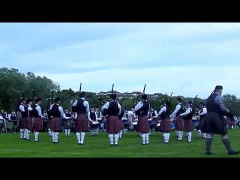Ravara Pipe Band - Borough Of Ards Championships 2014 - MSR