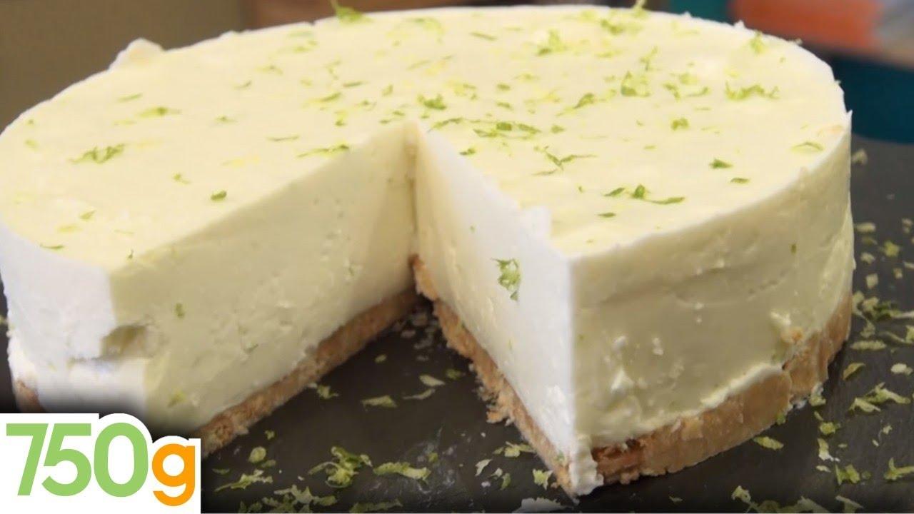 Recette De Cheesecake Au Citron Vert Sans Cuisson Grammes - 750 grammes recette de cuisine