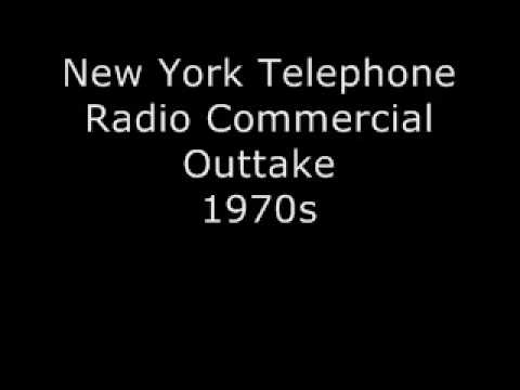 New York Telephone - Radio Commercial Outtake