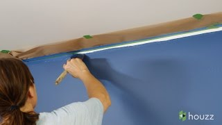 How to Paint a Wall Faster