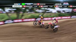Spring Creek 450 Moto 1 Roczen vs Tomac