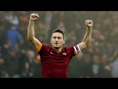 Totti ● 2 goals ● Roma 3 x 2 Torino ● 20/04/2016 ● HD