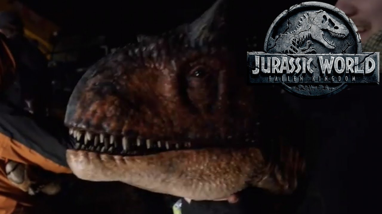 New Jurassic World Fallen Kingdom Behind The Scenes