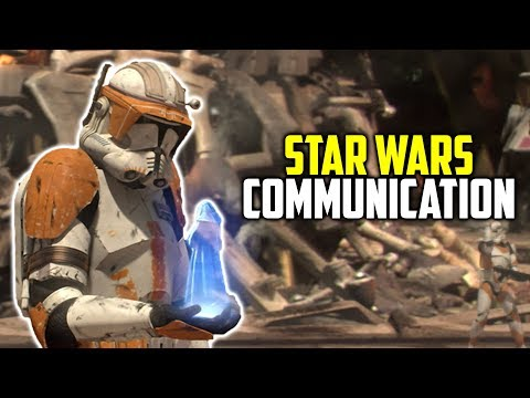 How Did Long Range Communications Work In Star Wars?