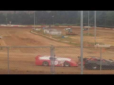 6-3-17 late model heat race coos bay speedway