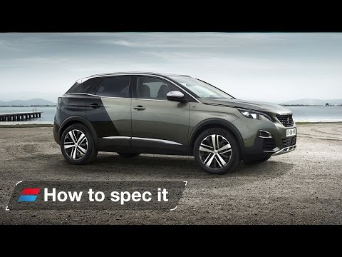 How to spec the 2017 Peugeot 3008 - engines, colour and trim levels