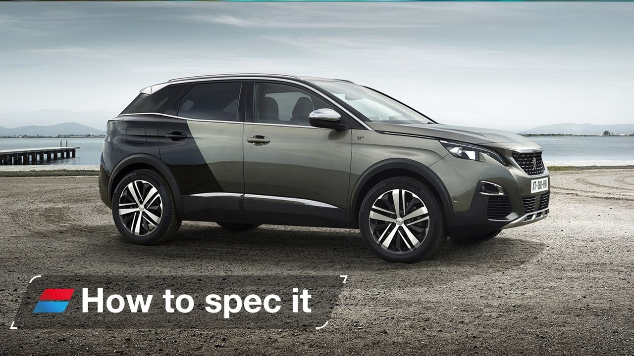 how to spec the 2017 peugeot 3008 engines colour and trim levels [ 1280 x 720 Pixel ]