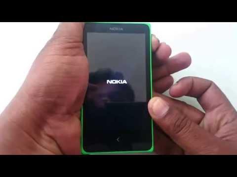 Nokia X hard reset