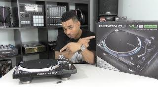 Denon DJ VL12 PRIME Turntable Review Video