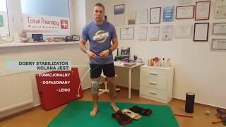 Staw kolanowy - stabilizacja czynna, a stabilizacja bierna