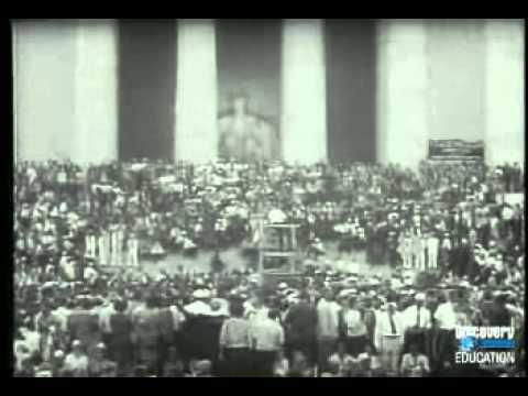 Civil Rights Video #8-March on Washington 1963
