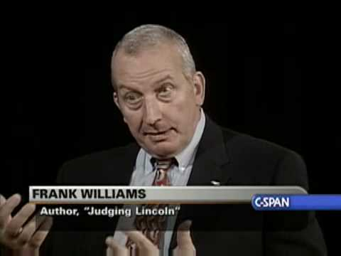 "Book TV: Frank Williams ""Judging Lincoln"""