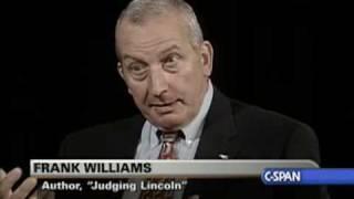 "Book TV: Frank Williams ""Judging Lincoln"""