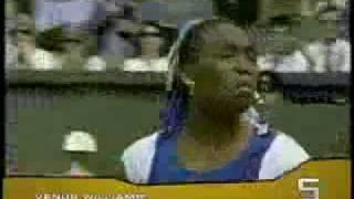 Venus Williams vs. 1 Umpire