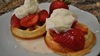 Waffles - RECIPE Thumbnail