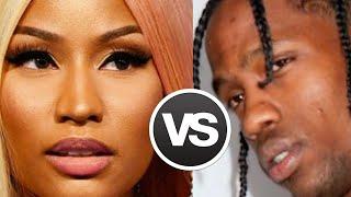 Nicki Minaj vs Travis Scott H$ of week Travis Scott states he is Still 1 album Azealia Banks