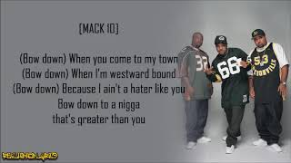 Westside Connection - Bow Down (Lyrics)