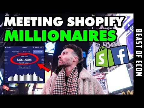 [CRAZY] I Flew To NYC To Meet Shopify MILLIONAIRES | Shopify Dropshipping 2019 thumbnail